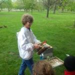 image of Barb Bloetscher, State Apiarist for Ohio Department of Agriculture